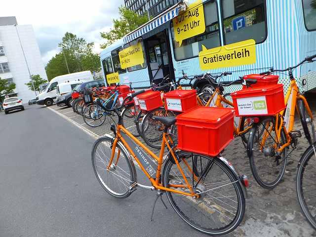 ツークでレンタサイクルで自転車を借りる:スイス