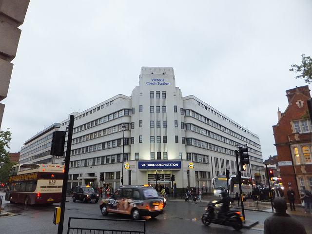 ロンドン、ビクトリアコーチ駅