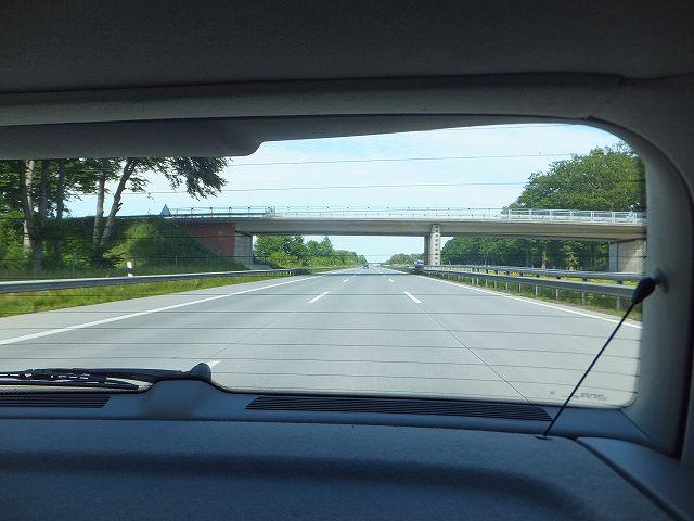 ドイツのアウトバーン(高速道路)