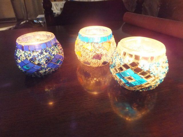 トルコ、グランドバザールで買ったお土産ランプ