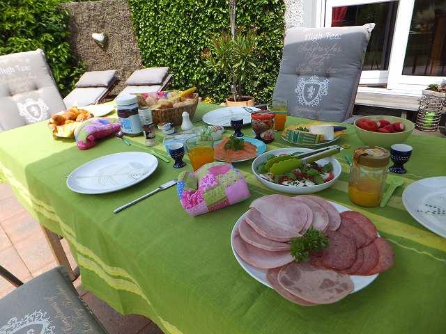 ドイツ休日の朝ご飯(ブランチ)