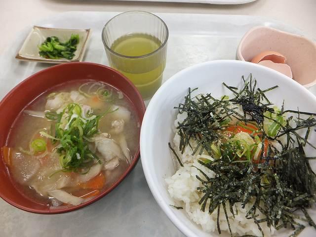 朝食セット:大阪国際空港(伊丹空港)の社員食堂『オアシス』