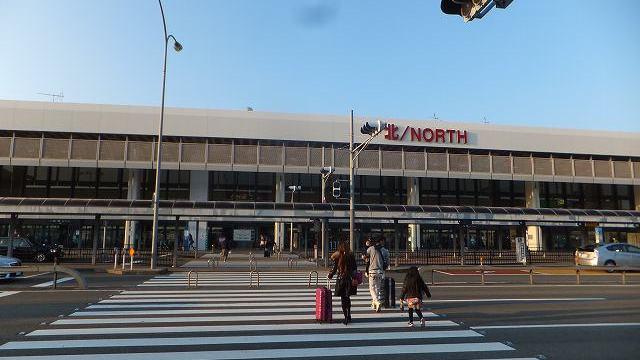 朝の大阪国際空港(伊丹空港)