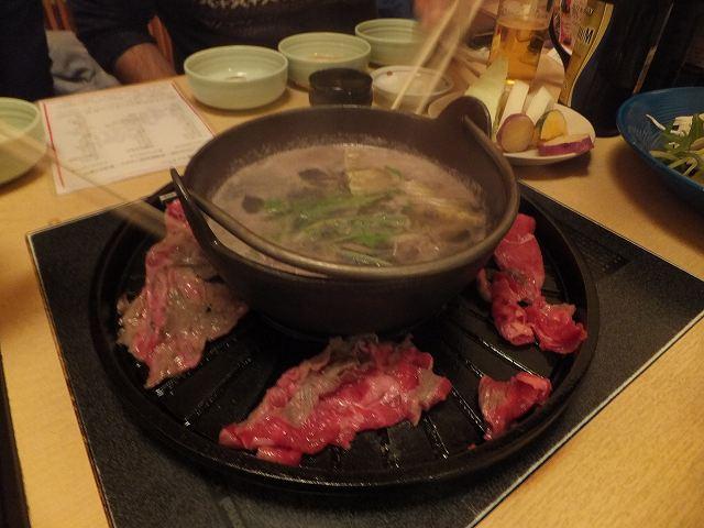焼きしゃぶ食べ放題:牛禅