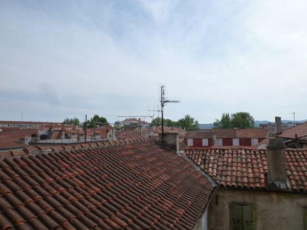 赤い屋根がいい感じ!ザダル:クロアチア