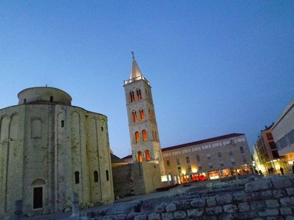 ザダルのシンボル:聖ドナト教会