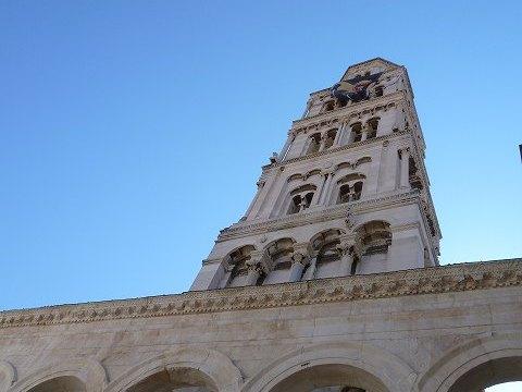 スプリット大聖堂の鐘楼