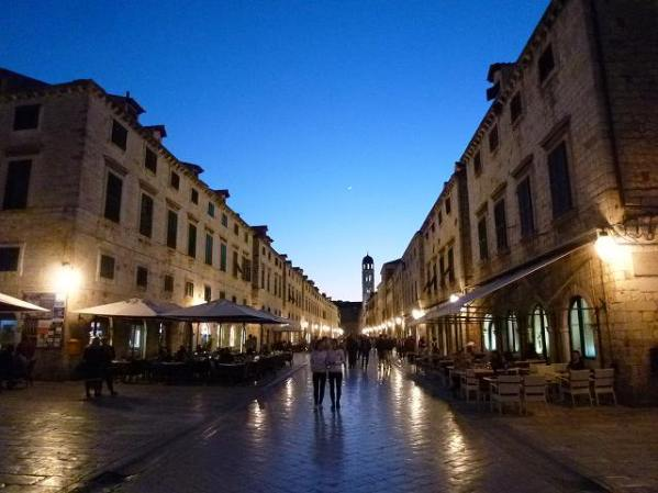 プラツァ通り:ドブロブニクのメイン通り