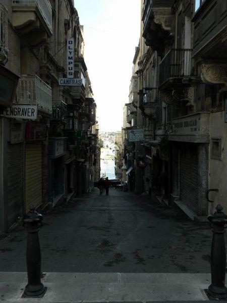 バレッタの路地の景色
