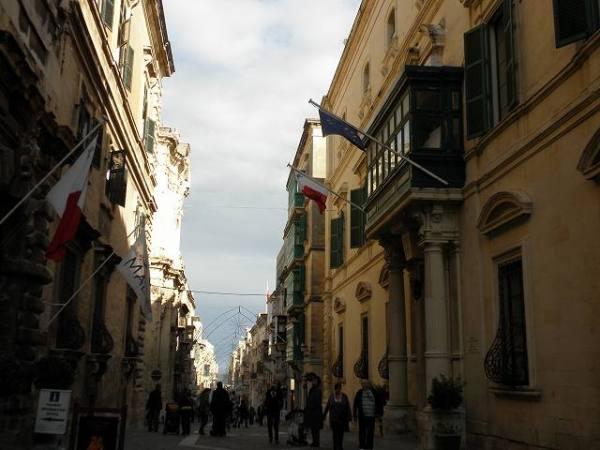 マルタの中心:首都バレッタ