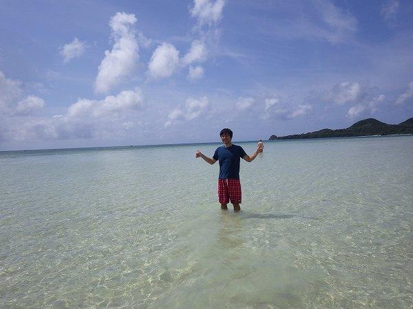 石垣島の綺麗な海…