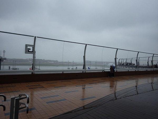 飛行機を観覧できるエリア:羽田空港国際線ターミナル
