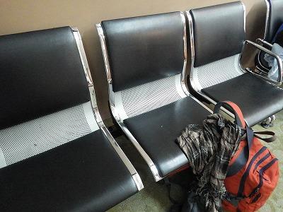 これなら寝れる、肘置きなしの椅子
