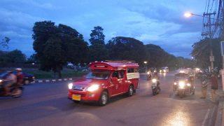 ソンテウinチェンマイ:乗合タクシー