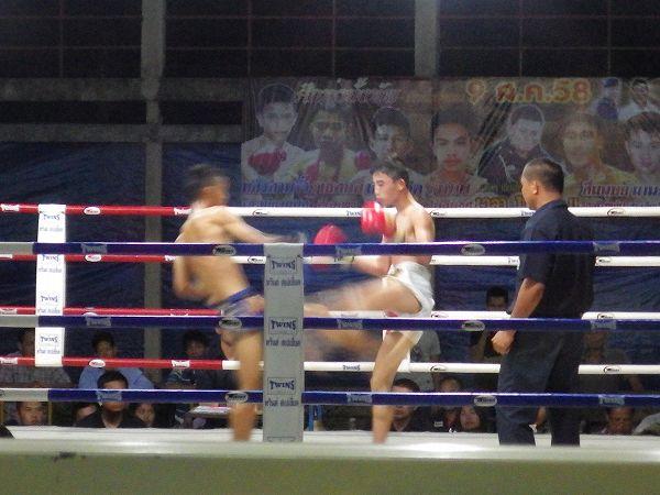 タイ:ムエタイの試合をチェンマイで観てきました!
