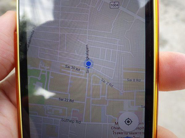自分の場所がしっかりわかる!googleマップ