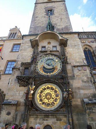 プラハの天文時計:かっこいいです