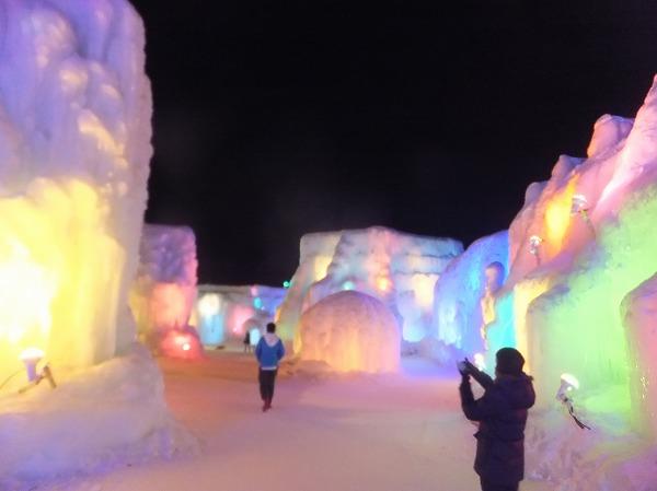 支笏湖氷濤まつり:ニセコ住み込み:リゾートバイト体験記