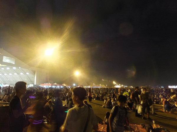 横田基地日米友好祭の様子