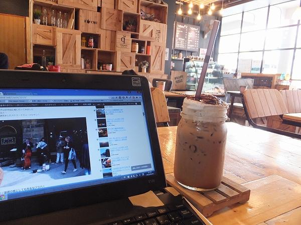 チェンマイにあるオシャレなカフェ