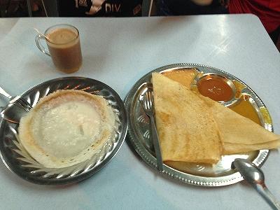 カレーを食べました:インディアンフード