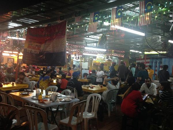 マレーシアの屋台:色んな文化がミックスしてる