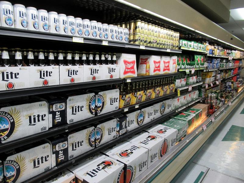 アルコール類が安い!ペイレススーパーマーケット