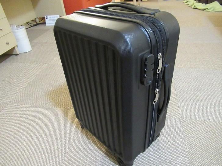 SMストアでスーツケースも買ったよ♪