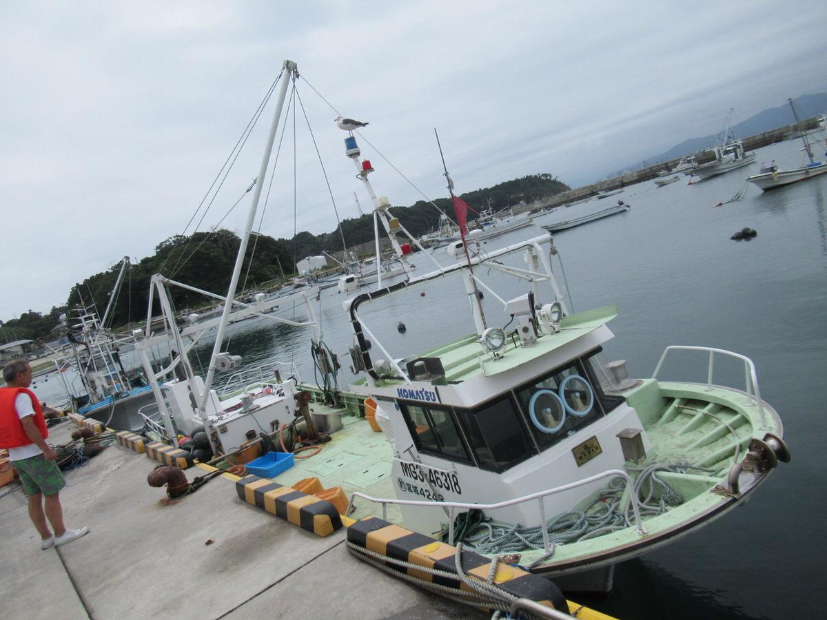 南三陸:金比羅丸さんでホタテ採りツアー!船
