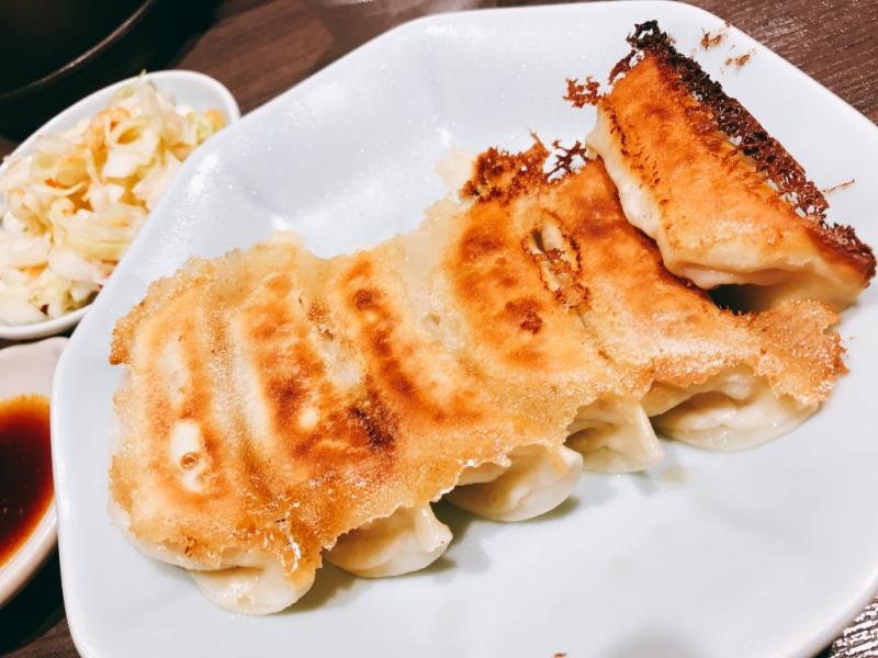 宇都宮餃子:みんみんの焼き餃子