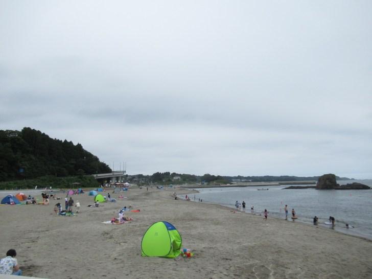 志津川海水浴場「サンオーレそではま」南三陸