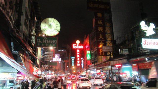 バンコク中華街の様子雰囲気