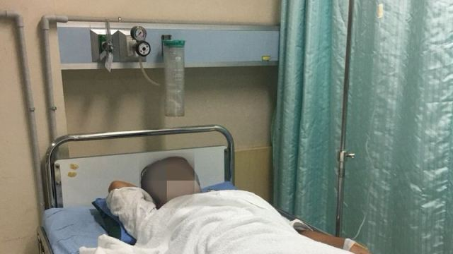 水下痢でプーケットの病院へ・点滴を打ってもらいました