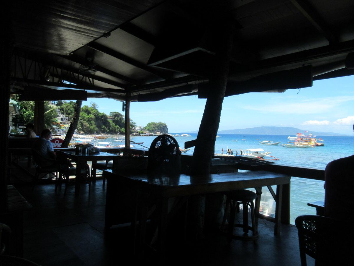 キャプテングレッグズダイブリゾートのカフェ・プエルトガレラ