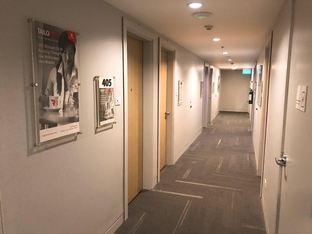 廊下・エアアジア系列のホテル・マニラ