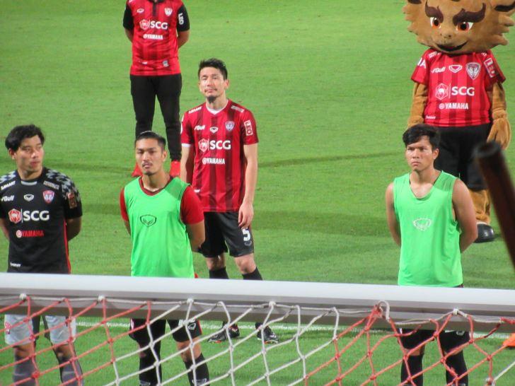 青山直晃選手:ムアントンユナイテッド 日本人プレイヤー2