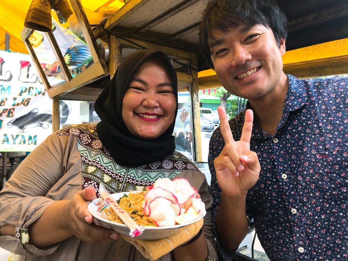 インドネシア・屋台飯