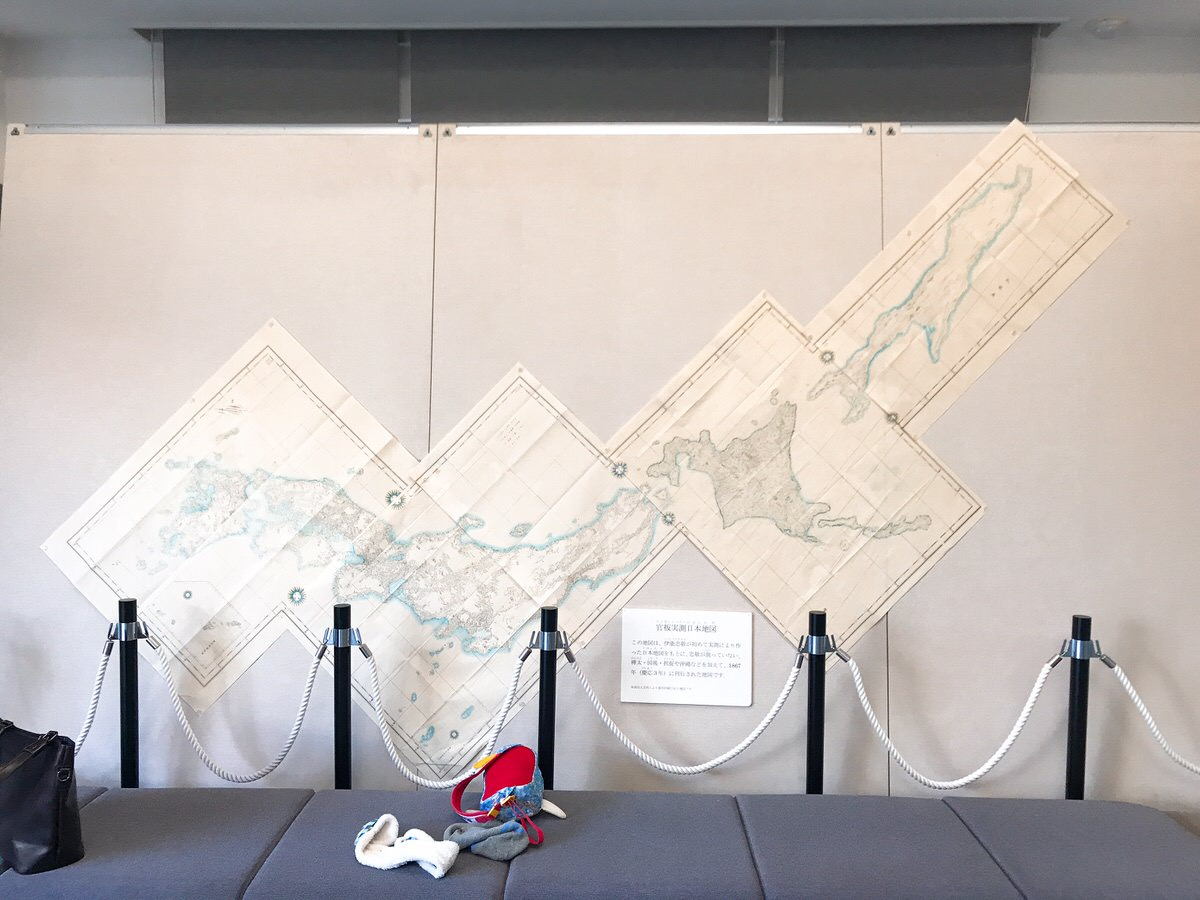 佐原・鹿島神宮旅行10:日本地図
