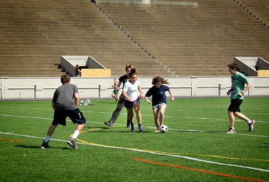 Teen Mentoring Soccer