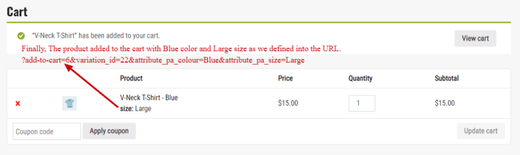woocommerce variable product add to cart button