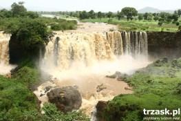 Wodospad na Nilu Błękitnym, Etiopia