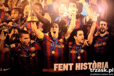 Odwiedzamy Camp Nou w Barcelonie