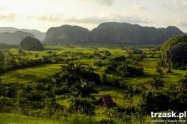 Dolina Vinales - tutaj rośnie najlepszy tytoń na Kubie