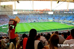 Maracana - if football is a religion in Brazil, this stadium is it's temple. Here is a Rio Derby: Fluminense v Vasco da Gama