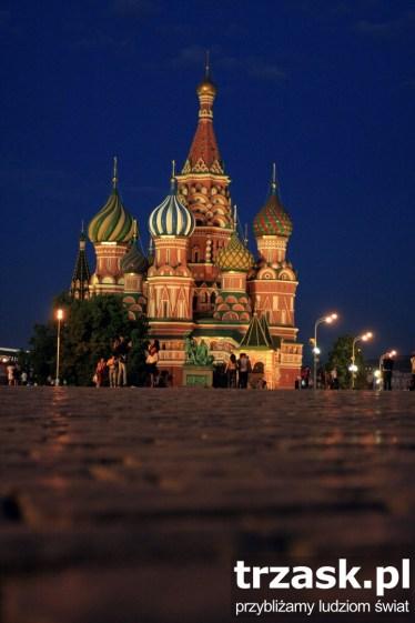 Sobór Wasyla Błogosławionego, Plac Czerwony, Moskwa, Rosja
