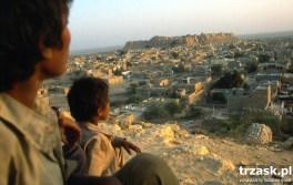 """Złote miasto"", Jaisalmer, Pustynia Thar"