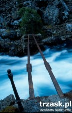 One of the many bridges to overcome on the trails around Flam