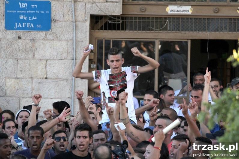 Zamieszki w Jerozolimie tuż przed rozpoczęciem wojny,Izrael