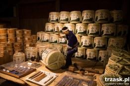 Wizyta w fabryczce produkującej sake