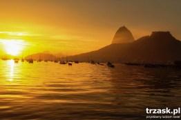 Botafogo Bay at sunrise